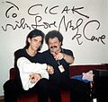 Nick Cave and Želimir Altarac Čičak, June 08 1997, Zagreb.jpg
