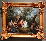 Nicolas lancret, la enda della danza, 1740 ca. (stichting huis doorn).jpg