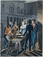 Nightlife in Philadelphia—an Oyster Barrow in front of the Chestnut Street Theater MET DT1807.jpg