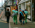 Ninja turtles in Friargate - geograph.org.uk - 811493.jpg