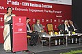 Nirmala Sitharaman addressing at the 2nd India-Cambodia, Laos, Myanmar, Vietnam (CLMV) Conclave, in New Delhi on December 11, 2014. The Commerce Secretary, Shri Rajeev Kher and other dignitaries are also seen.jpg