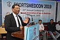 Nisith Ranjan Chowdhury Talks on Prevention of Sudden Death in Sports - SPORTSMEDCON 2019 - SSKM Hospital - Kolkata 2019-03-17 4063.JPG