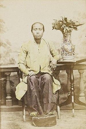 Jacobus Anthonie Meessen - Image: Njai by Meessen, c 1867