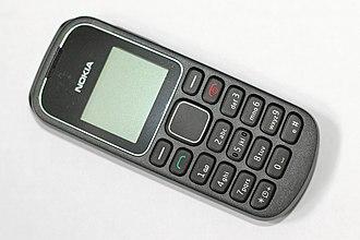 Nokia 1280 - Image: Nokia 1280 out the box