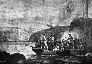 Nootka Crisis - Seizure of Capt. Colnett