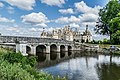 North-west exposure of the Chambord Castle 02.jpg