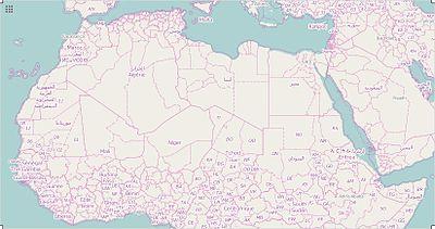 ModuleLocation MapdataAfrica North Africa Wikipedia - North africa map