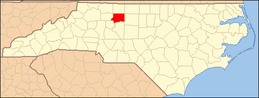 North Carolina Map Highlighting Forsyth County.PNG