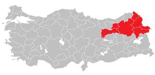 Northeast Anatolia Region (statistical) Region in Turkey