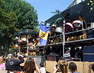 Barbadian British - Barbadian culture is celebrated as part of the Notting Hill Carnival