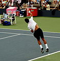 Novak Djokovic at the 2007 US Open.jpg