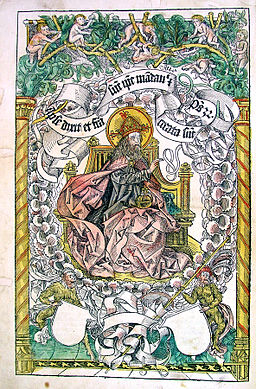 Nuremberg Chronicle God creating the world