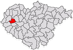 Commune Nușfalău in Sălaj County