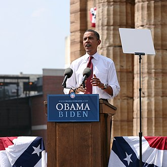 Fundraising - US President Barack Obama's campaign team organised a record-breaking fundraising effort in 2008 based on grassroots fundraising