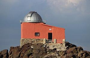 Sierra Nevada Observatory - Image: Observatorio Mojon del Trigo 2014 08 07