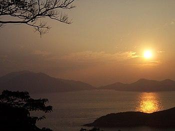 Ocean Park sunset 2