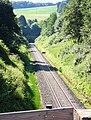 OdenwaldbahnFrauNausesTunnelNordportalGleis.JPG
