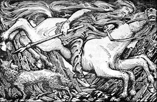 Sleipnir Odins eight-legged horse