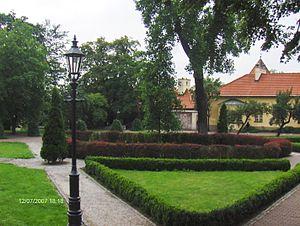 Wieliczka - Image: Ogrod Zupny