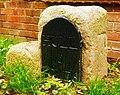 Old Milestone by Riplingham Road, Kirk Ella parish (geograph 6049773).jpg