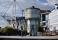 Old Water Tower Cardiff Central Station 2005.jpg