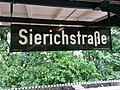 Old enamel sign, Sierichstrasse U-Bahn station - geo.hlipp.de - 36296.jpg