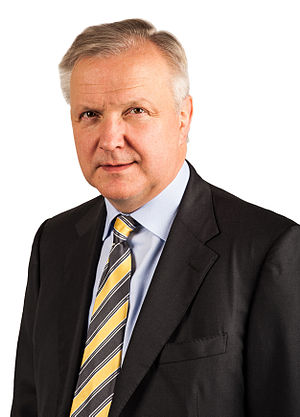 Centre Party (Finland) - Olli Rehn, European Commissioner for Economic and Financial Affairs 2010–2014.