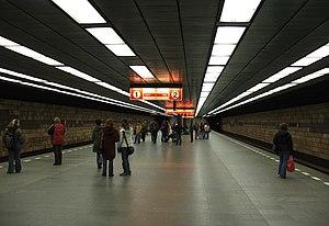 Opatov (Prague Metro) - Platform