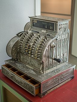 Openluchtmuseum Ellert en Bammert te Schoonoord - national cash register