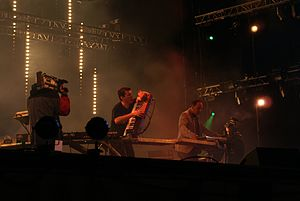 The Crystal Method - The Crystal Method live in 2009.