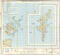 Ordnance Survey Quarter-inch sheet 1 Orkney and Shetland Islands, published 1962.jpg