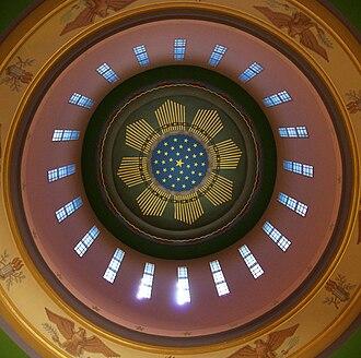 73rd Oregon Legislative Assembly - Interior of the rotunda at the Capitol Building