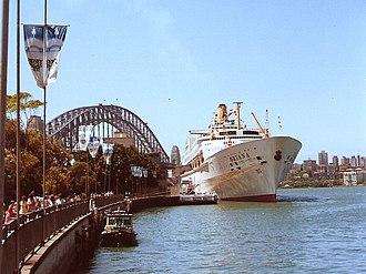 SS Oriana (1959) - SS Oriana, seen in Sydney, Australia.