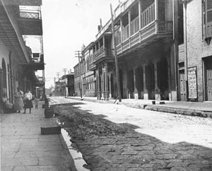 Théâtre d'Orléans - Image: Orleans Theater Brick Street