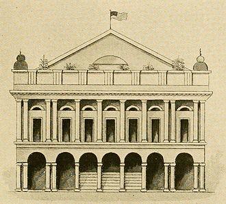 Théâtre d'Orléans - The Théâtre d'Orléans, 1813