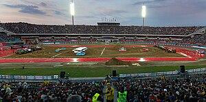 Silesian Stadium - Image: Orlen Monster Jam Stadion Slaski