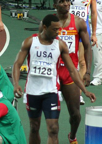 David Payne (athlete) - Payne in 2007
