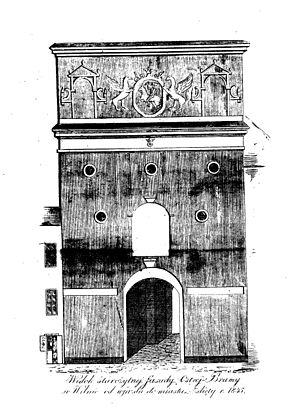 Gate of Dawn - Image: Ostra brama orgelbrand