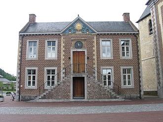 Zonhoven - Image: Oud gemeentehuis zonhoven