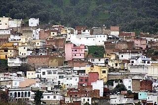 Ouazzane Place in Tanger-Tetouan-Al Hoceima, Morocco