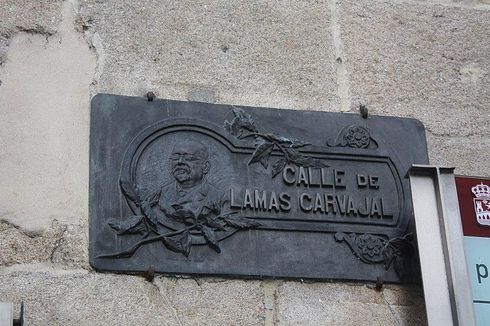 Ourense, rúa Lamas Carvajal 06-20b