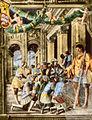 Ovetari, san cristorforo 04, Predica di san Cristoforo di Ansuino da Forlì.jpg