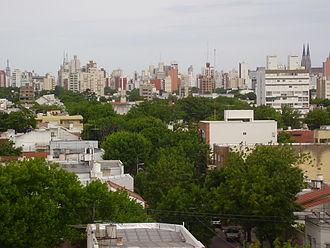 La Plata - Panoramic view of La Plata.