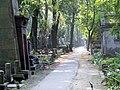 PL Warsaw Stare Powązki alejka cmentarza 1.jpg