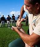 PMO Marines, civilians train with non-lethal weapons 130129-M-JR941-002.jpg