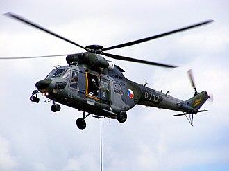 Czech Air Force - Czech Air Force PZL W-3A