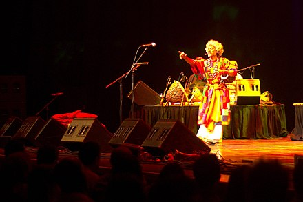 Paban Das Baul, baul singer at Nine Lives concert, 2009. Paban Das Baul at Nine Lives concert, 2009.jpg