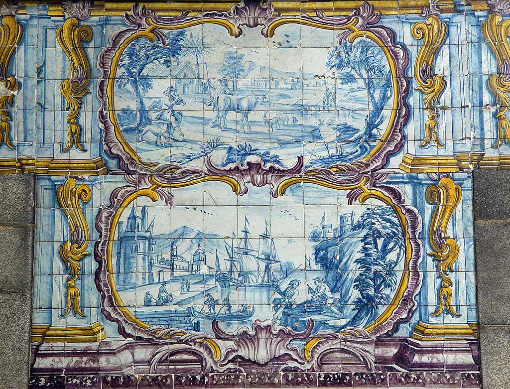 El arte del azulejo en portugal suma de influencias con for Casa dos azulejos lisboa