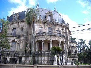 Concordia, Entre Ríos - Concordia's most architecturally significant residence, the Arruabarrena house.