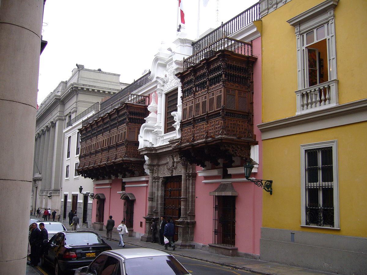 Palacio de torre tagle wikipedia la enciclopedia libre for Imagenes arquitectura